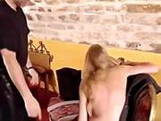 French Soumisive Beauty Hard Spanked 1