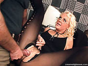 Tanned Curly Maid Lili Gets Repaid For Housework With Pussy Tickling