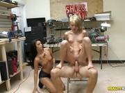 Backroom Sex With Hot Teen Gives Her Some Spare Cash