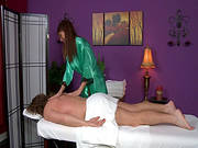Massage Gets Her Do Nasty Things