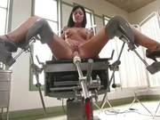 India Summer Took Off Her White Lingerie And Spread Her Legs For Her New Fucking Machine