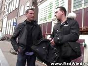Real Amsterdam Tourists Looks For Hooker