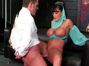 Busty Mom Lisa Ann Slammed In Her Mature Pussy