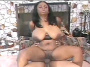 Kinky Ebony Bitch Gets Her Shaved Pussy Drilled Hard