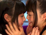 Japanese Lesbians Licking Their Delicious Assholes