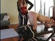 Loren Gives Foot Worship Receives Flogging Orgasms